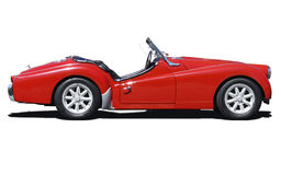 Carro de esportes retro do triunfo Imagem de Stock Royalty Free