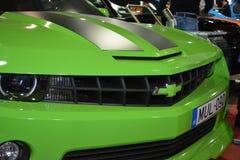 Carro de esportes verde Foto de Stock Royalty Free