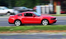 Carro de esportes vermelho Fotos de Stock