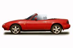 Carro de esportes vermelho Imagem de Stock Royalty Free