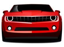 Carro de esportes vermelho do camaro de Chevrolet Imagem de Stock Royalty Free