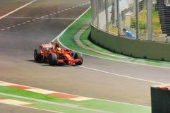 Carro de Ferrari de Felipe Massa nos 2008 F1 Imagens de Stock