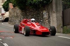 Carro de Formla 2 em Bergamo Prix grande histórico 2015 Fotos de Stock Royalty Free