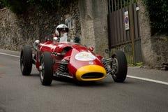 Carro de Formla 2 em Bergamo Prix grande histórico 2015 Imagens de Stock Royalty Free