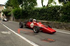 Carro de Formla 2 em Bergamo Prix grande histórico 2015 Imagem de Stock