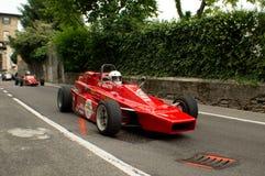 Carro de Formla 2 em Bergamo Prix grande histórico 2015 Fotografia de Stock Royalty Free