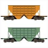 Carro de frete Railway ilustração royalty free