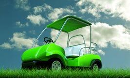 Carro de golf Fotos de archivo