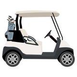 Carro de golf Imagen de archivo libre de regalías