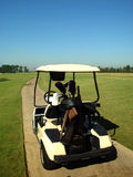 Carro de golf Foto de archivo