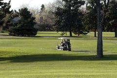 Carro de golf Imagen de archivo