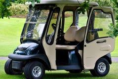 Carro de golfe imagens de stock