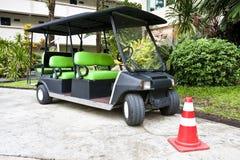 Carro de golfe foto de stock royalty free