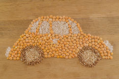carro de grão Eco-amigável Fotos de Stock