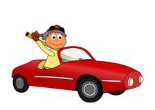 Carro de Granpa ilustração royalty free