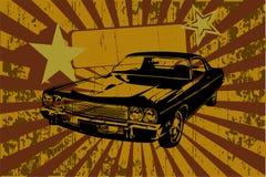 Carro de Grunge Imagem de Stock