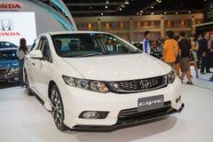 Carro de Honda Civic na exposição Imagens de Stock Royalty Free