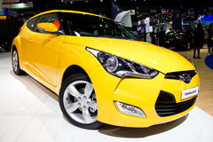 Carro 2013 de Hyundai Veloster. Imagens de Stock Royalty Free
