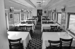 Carro de jantar, Clifton Forge, VA Fotos de Stock Royalty Free
