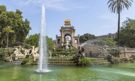 Carro de la Aurora fountain Royalty Free Stock Image