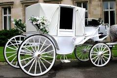 Carro de la boda Imagenes de archivo