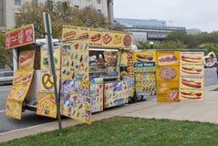 Carro de la comida Foto de archivo libre de regalías
