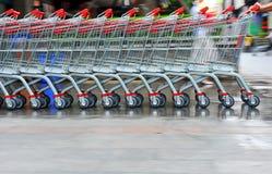 Carro de la compra Imagen de archivo libre de regalías