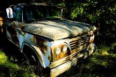 Carro de la granja Fotografía de archivo libre de regalías