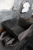 Carro de la mano del carbón Imagen de archivo libre de regalías