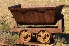 Carro de la mina Imágenes de archivo libres de regalías