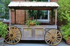 CARRO DE LA RUEDA Foto de archivo libre de regalías