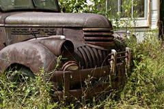 Carro de la yarda de desperdicios imagen de archivo