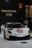 Carro de Lamborghini no estilo chinês Imagens de Stock Royalty Free