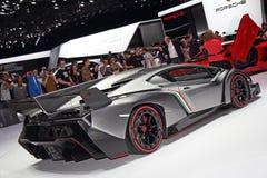 Lamborghini Veneno LP750-4 - exposição automóvel 2013 de Genebra Imagem de Stock Royalty Free