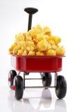 Carro de las palomitas del caramelo Foto de archivo libre de regalías