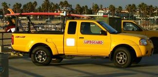 Carro de Lifegaurd Imagen de archivo libre de regalías