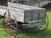 Carro de madera Imagenes de archivo
