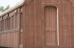 Carro de madera del vintage Fotografía de archivo