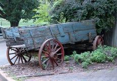 Carro de madera viejo imagen de archivo libre de regalías