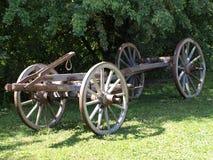 Carro de madera viejo Imagenes de archivo
