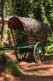 Carro de madera viejo Fotos de archivo libres de regalías