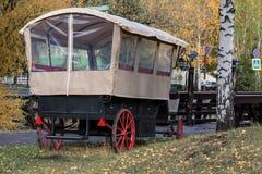 Carro de marcha da inclinação no parque Fotos de Stock