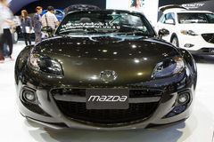Carro de Mazda MX-5 na expo internacional do motor de Tailândia Foto de Stock