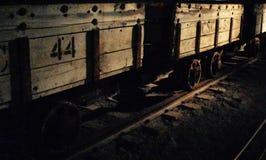Carro de mineração Fotografia de Stock Royalty Free