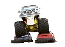 Carro de monstruo Imagen de archivo libre de regalías