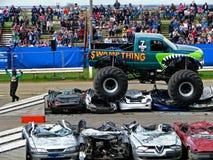 Carro de monstruo de Swampthing Foto de archivo libre de regalías