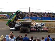 Carro de monstruo extremo Fotografía de archivo