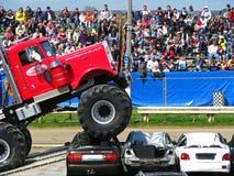 Carro de monstruo grande de Pete Fotografía de archivo libre de regalías