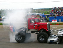 Carro de monstruo grande de Pete Imagen de archivo libre de regalías