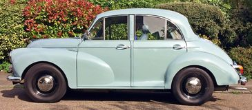 Carro de Morris Minor Imagem de Stock Royalty Free